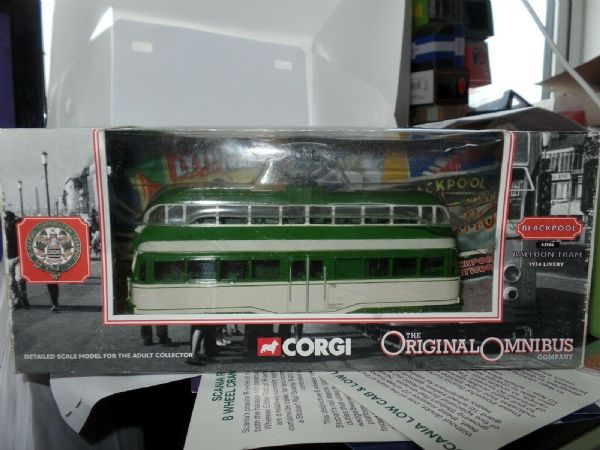 Corgi 43506 EE Balloon Tram Blackpool 1934 Livery Pleasure Beach MIMB